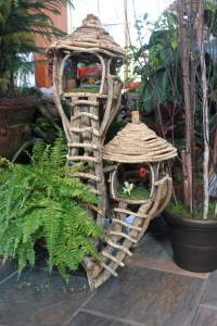 Tree House Fairy Garden