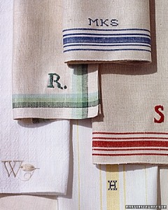Tea Towel Napkins