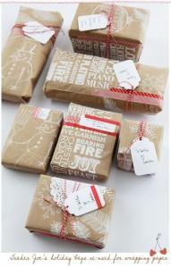 Trader Joes Bag Gift Wrap